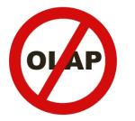 OLAP free zone